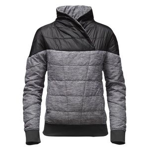 North Face pseudio pullover jacket puff coat